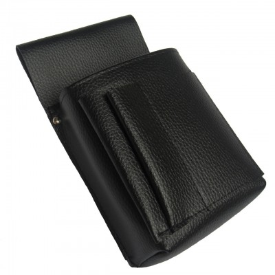 Waiter's holster, case  -  New Barex, imitation leather, black