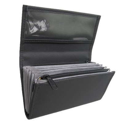 Waiter's moneybag - artificial leather, black