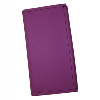 Čašnícka peňaženka - koženka, fialová